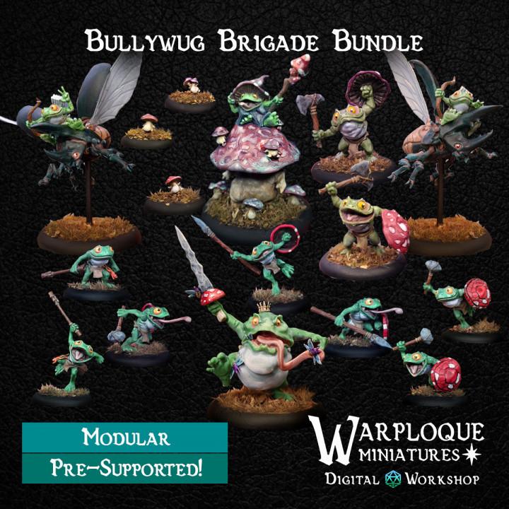 Warploque digital bullywug-brigade-bundl