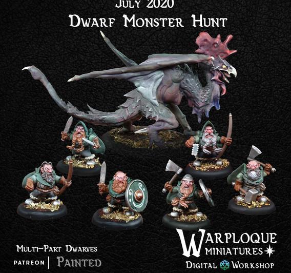 Warploque Digital dwarf monster hunt.jpg
