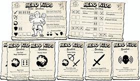 Hero Kids - Development Card Spread - 19