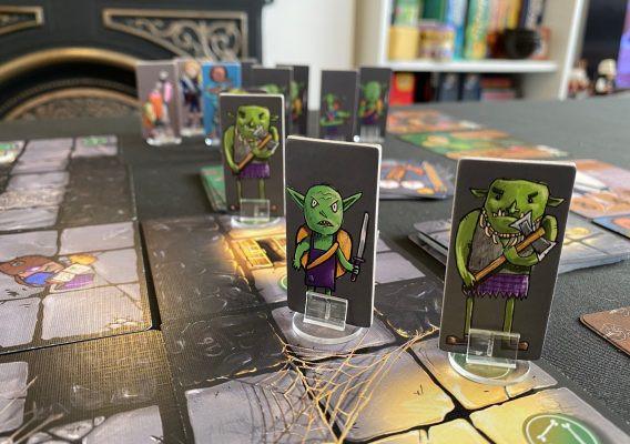 Cora Quest Monster Standees