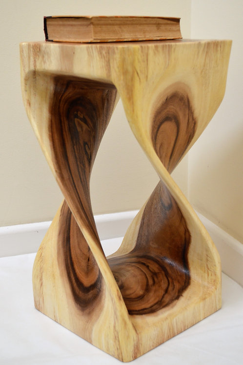 Twisted Side Table - Natural