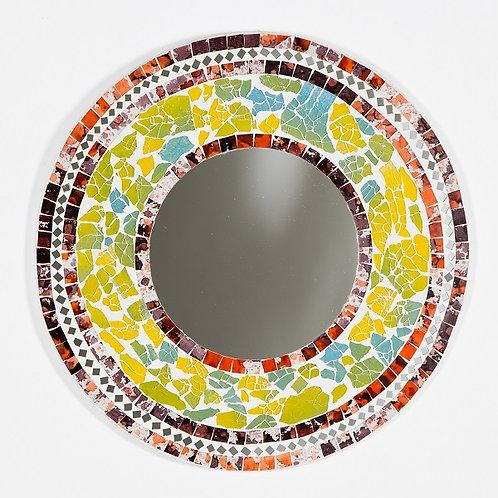 Multicolour Mosaic Mirror-40cm