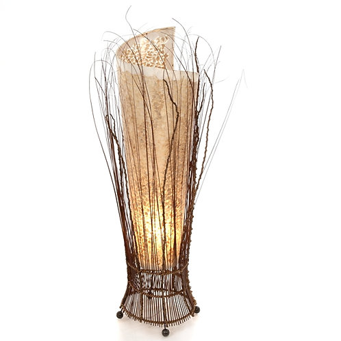Coco Twig Gold Shell Lamp-100cm