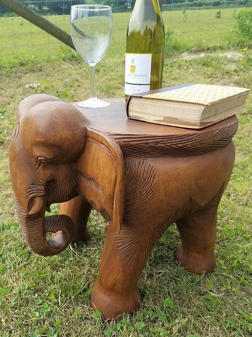 """Elephant Side Table/Stool 14"""""""
