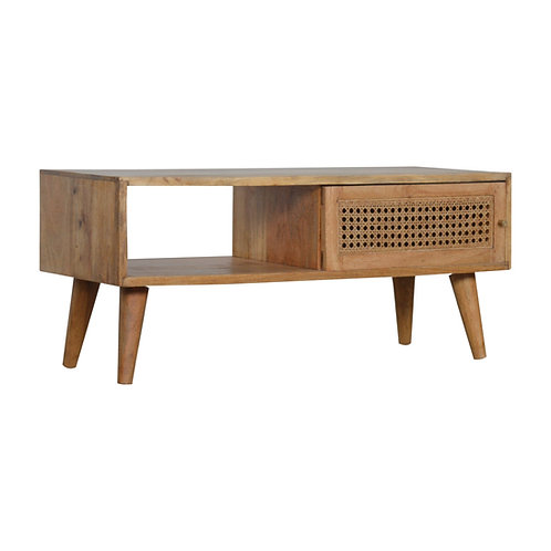 Rattan Drawer Front Coffee Table