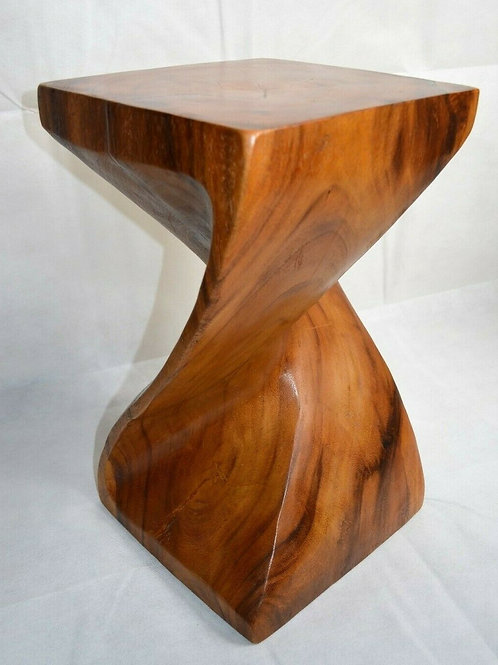 Solid Twist Side Table