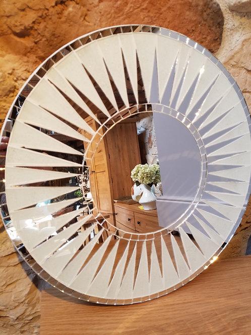 Sun Burst Mosaic Mirror-40cm