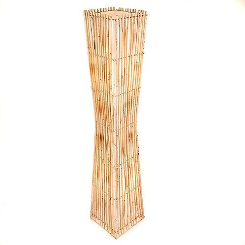 Natural Rattan Floor Lamp - 100cm