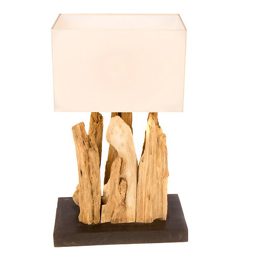 Reclaimed Tree Root Table Lamp