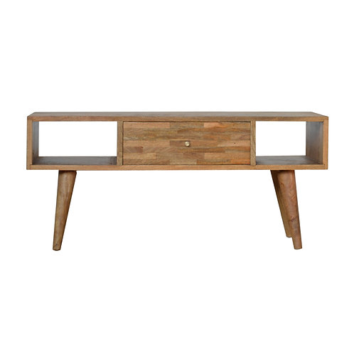 Mixed Wood 1 Drw Coffee Table