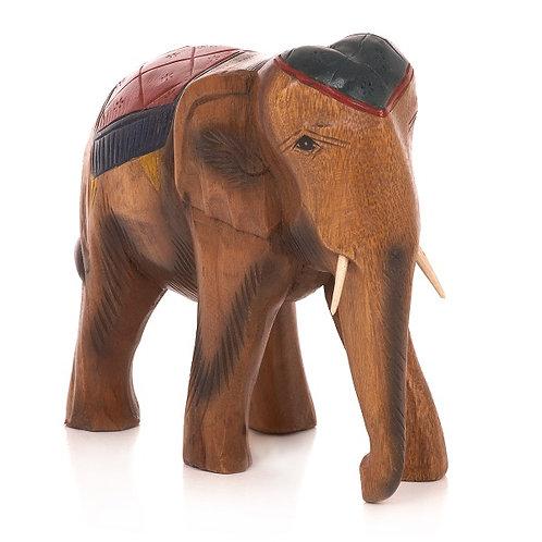Elephant with blanket