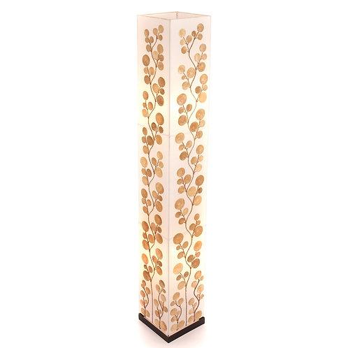 Gold Poppy Shell Floor Lamp - 150cm