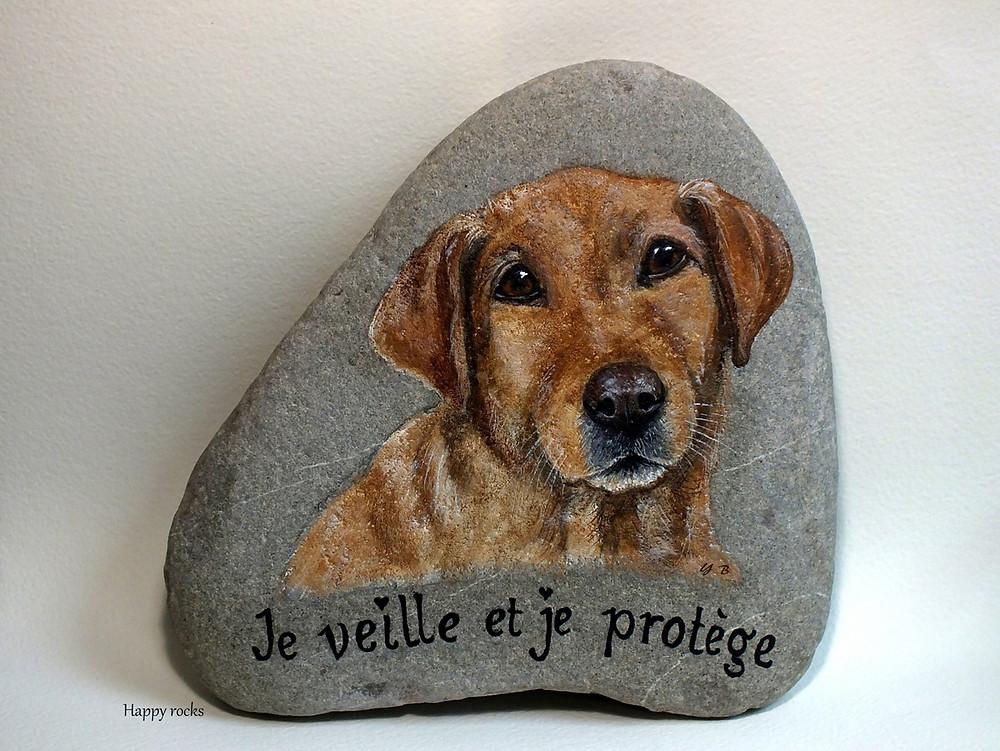 art on rock - happy rocks - peinture sur galets
