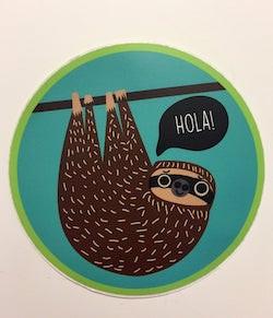 Hola! Sloth   Samantha Hutchinson-Ouranos