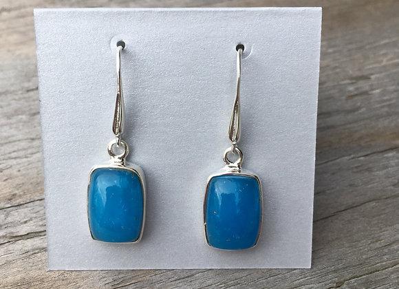 Smithsonite earrings