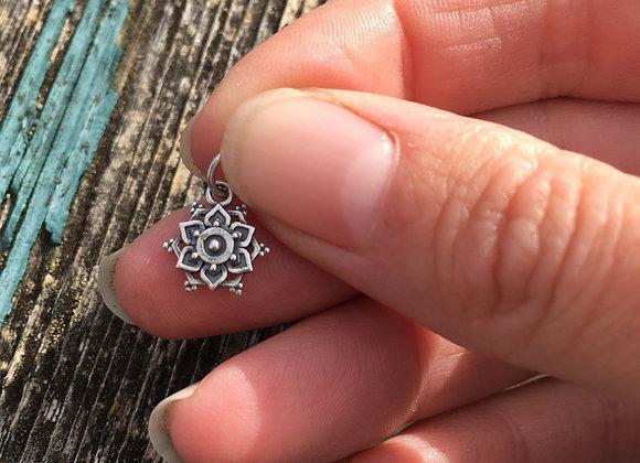Tiny mandala pendant