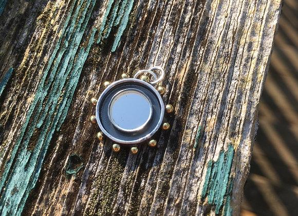 Sacred mirrors portal pendant