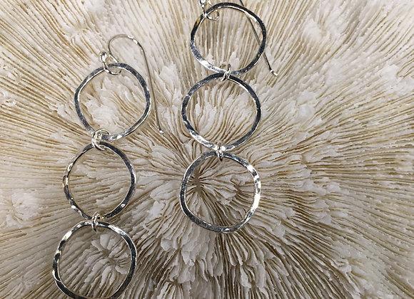 Mikel Grant triple cube earrings