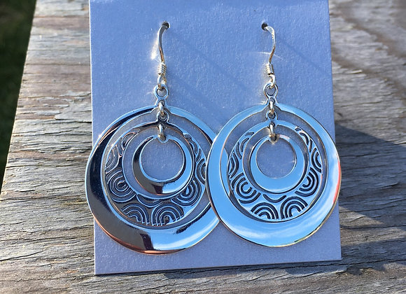 Multi loop earrings