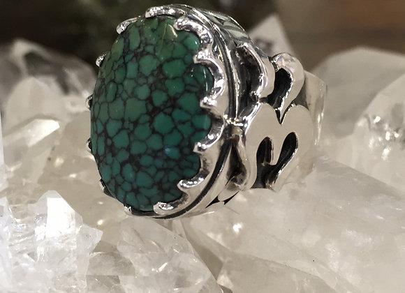 Mercurious Designs Turquoise Ohm Ring