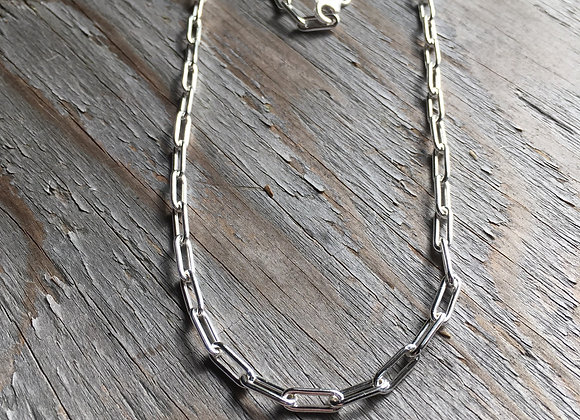 20 inch 3.8mm paperclip chain