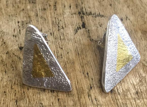 My Kind of Jewellery Triangle studs