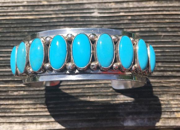 Vintage southwest turquoise cuff