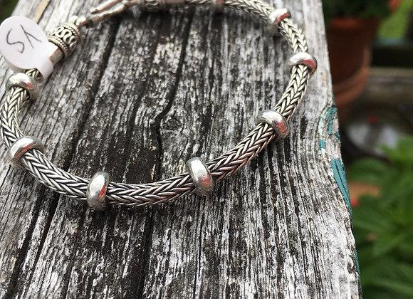 Chunky braided bracelet