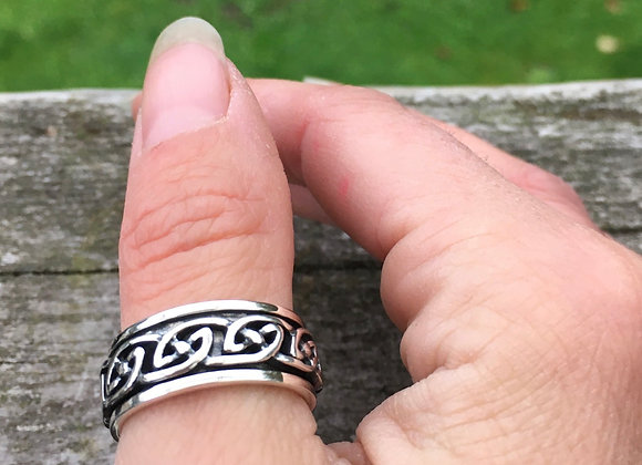 Celtic meditation ring
