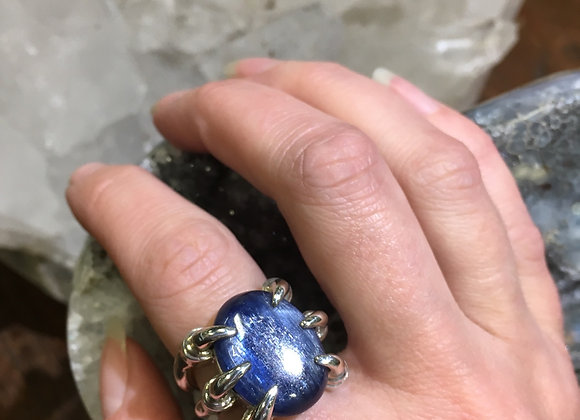 Mercurious Designs kyanite claw ring