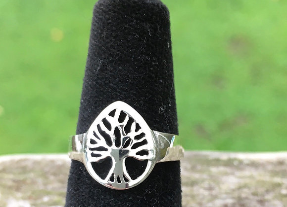 Tree of life pinky ring