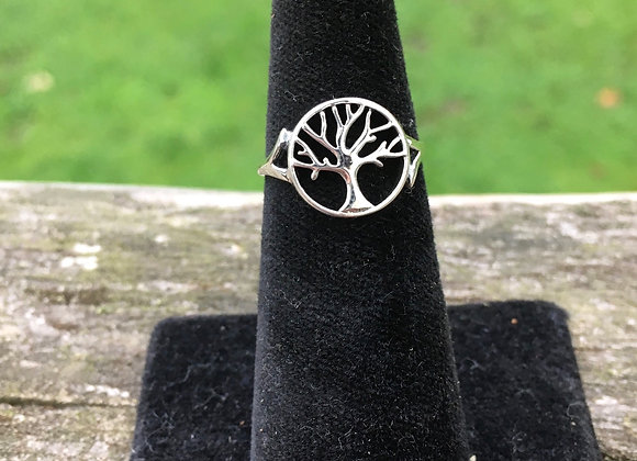 Small tree of life ring