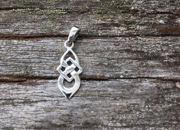 Small Celtic knot pendant
