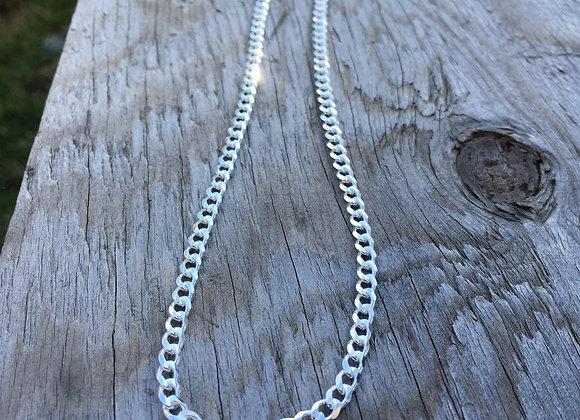 Men's 28 inch curb chain