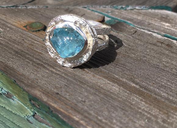 Marija Designs aquamarine ring
