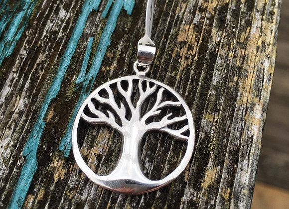 Round tree of life pendant