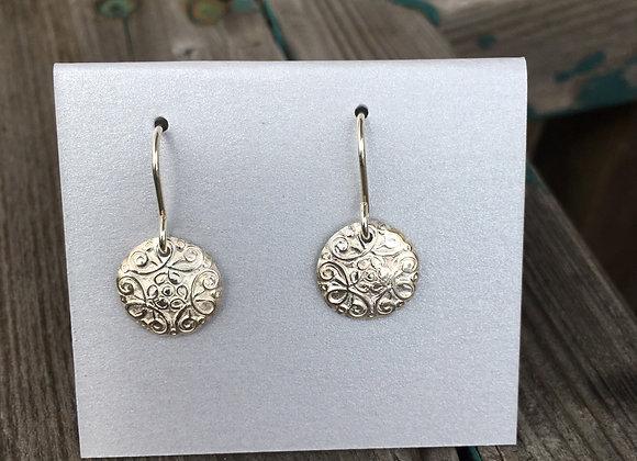 Alasha small round earrings
