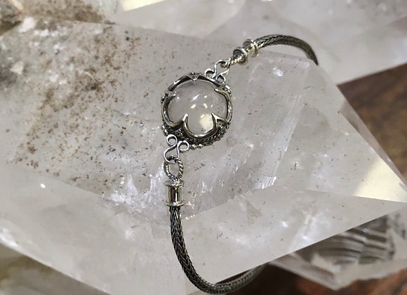 Geo Designs quartz sphere bracelet
