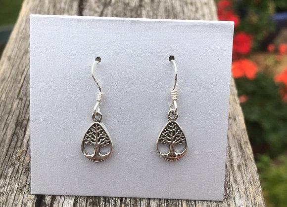 Little tree of life earrings
