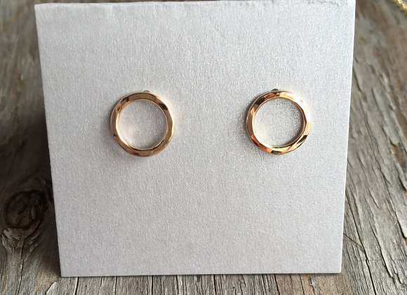 Mikel Grant circlet earrings gold fill