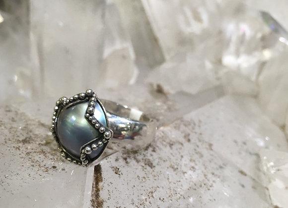 Mariella Pilato pearl ring