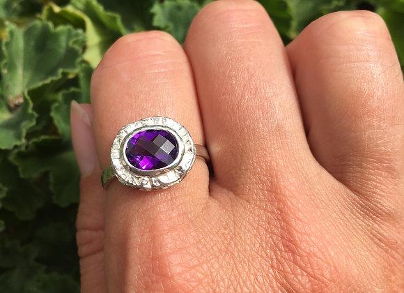 Marija Designs amethyst ring