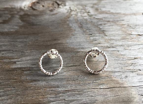 Mikel Grant bead circlet studs