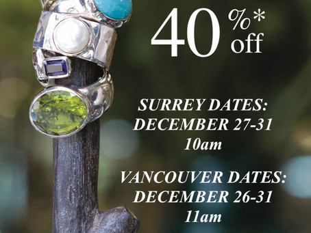 Boxing week sale announcements.