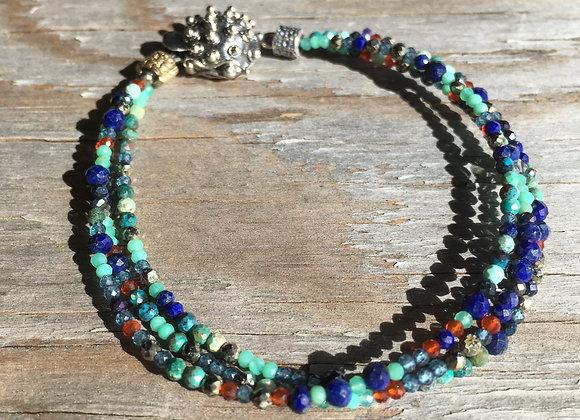 GenVie Designs multi stone bracelet