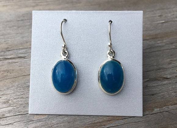 Smithsonite earrings