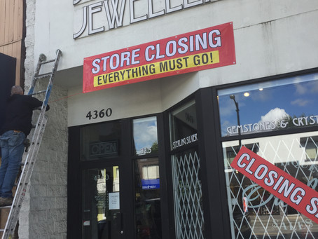 Vancouver Store Closing September