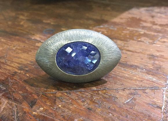 Mariella Pilato tanzanite ring