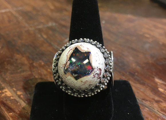 Mercurious Designs opal ring