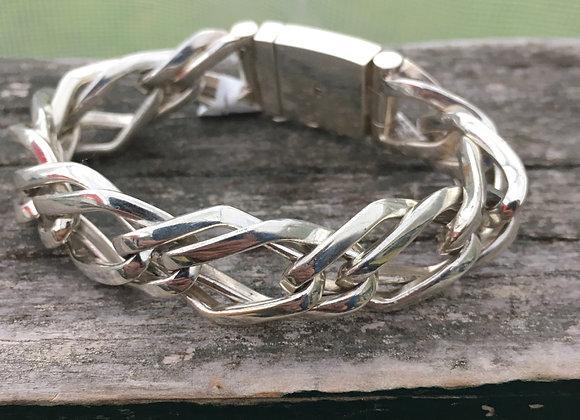 Chunky womens link bracelet
